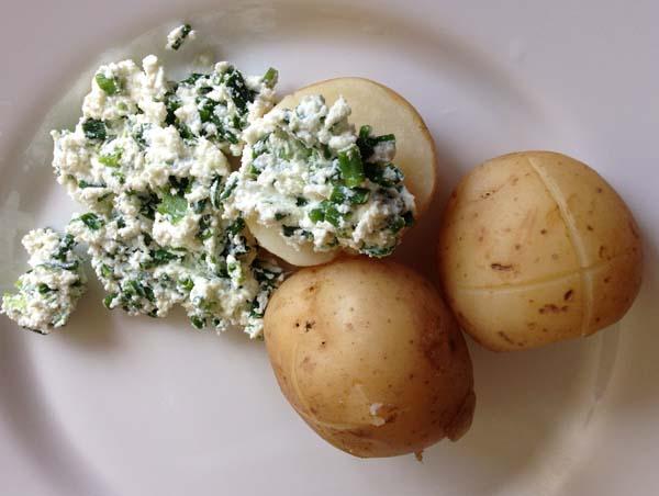 ziemniaki na parze